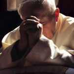 Giovanni Paolo II in preghiera