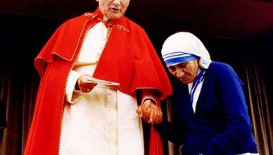 Giovanni Paolo II e Madre Teresa