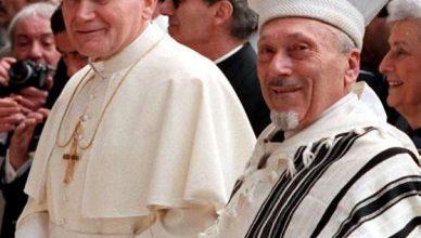 Giovanni Paolo II visita la sinagoga a Roma - Giovanni Paolo II